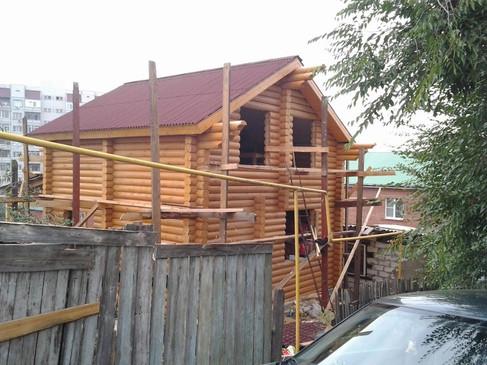 Набольшой дачный дом - 120 м2