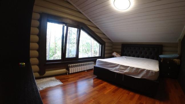 Дом из бревна 140 м2