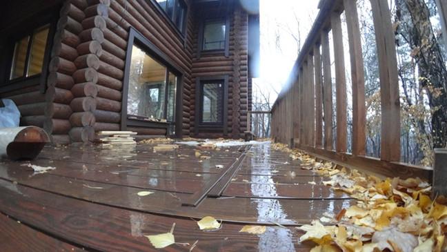 Популярный проект дома из бревна