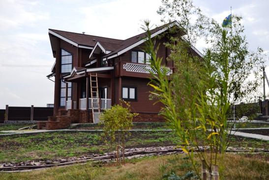 Дом 300 м2 из Клееного бруса - Калинка