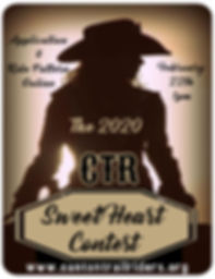 2020 Canton Trail Riders SweetHeart Contest
