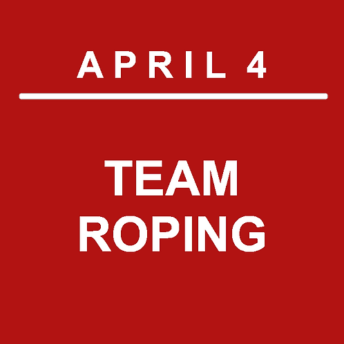 DAY 3 EVENT - TEAM ROPING