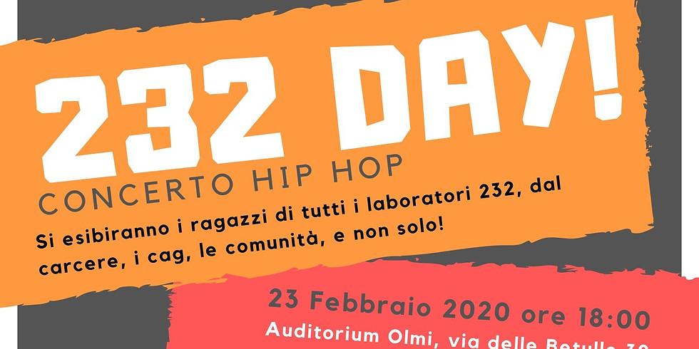 232 Day! Concerto hip hop [ANNULLATO]