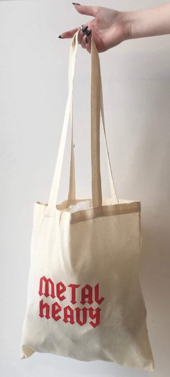 Metal Heavy Reusable Bag!
