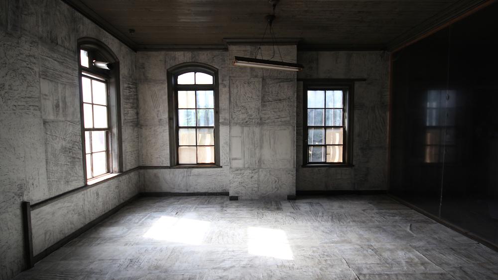 旧東京製鋼小倉工場赤煉瓦事務所棟の皮膚