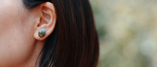 SHA-KO-SEKI fragments   Earrings