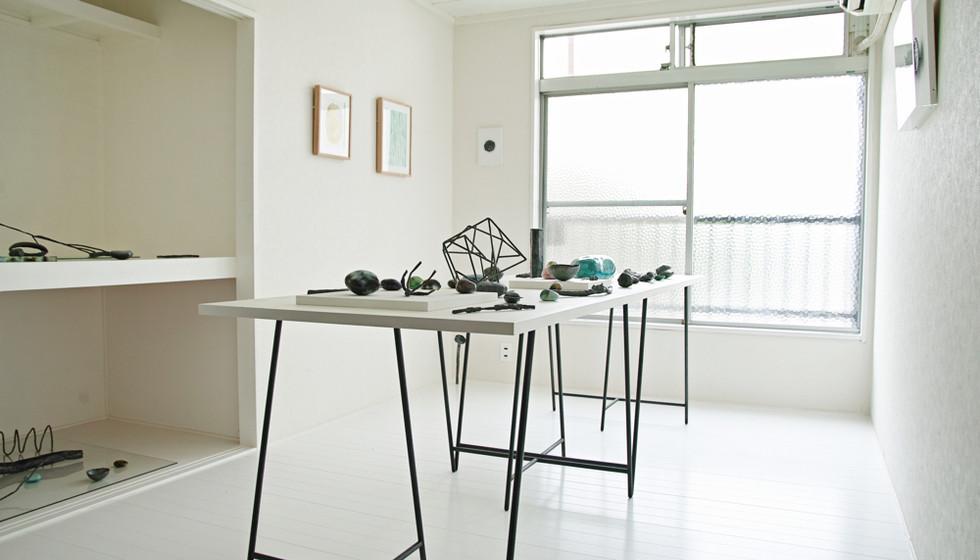 塩井一孝 個展「写光石と鉄の彫刻」