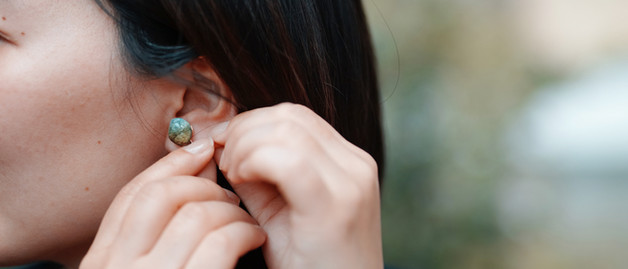 SHA-KO-SEKI fragments | Earrings