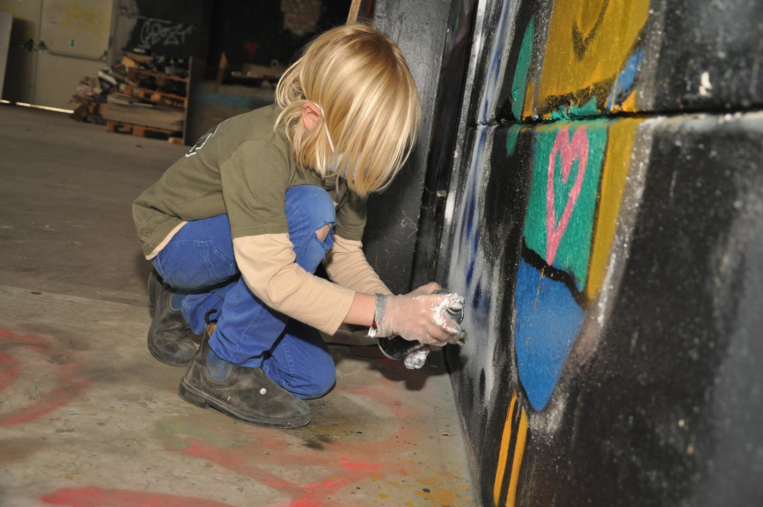 das erste eigene Graffiti