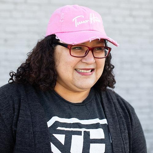 PINK SCRIPT HAT