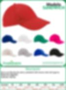 Venta por mayoreo de gorras deposrtivas promocionales o Publicitarias