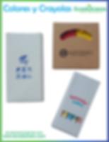 colores publicitarios, colores promocionales, coyolas publicitarias, crayolas promocionales, articulos promocionales, articulos publicitarios