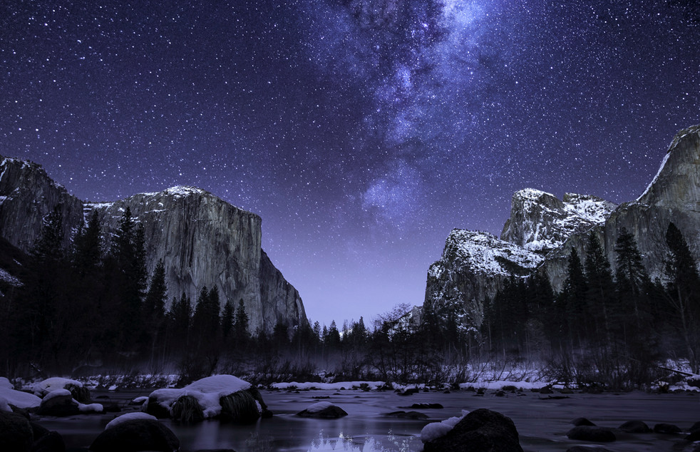 Yosemite National Park Milky Way