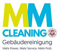 MM Cleaning Logo, Meisterbetrieb, Gebäudereinigung
