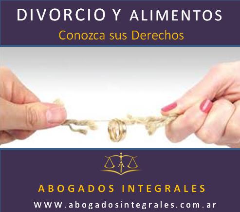 Divorcio y alimentos