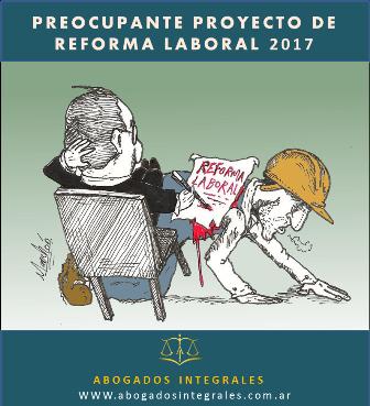 Proyecto de reforma laboral 2017