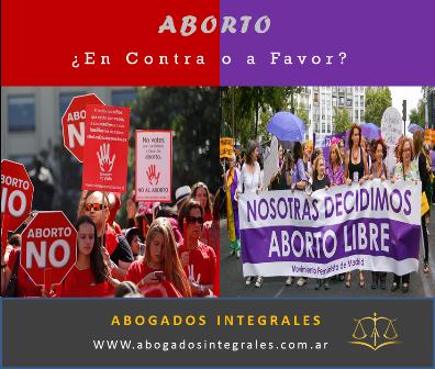 Aborto ¿A favor o en Contra?