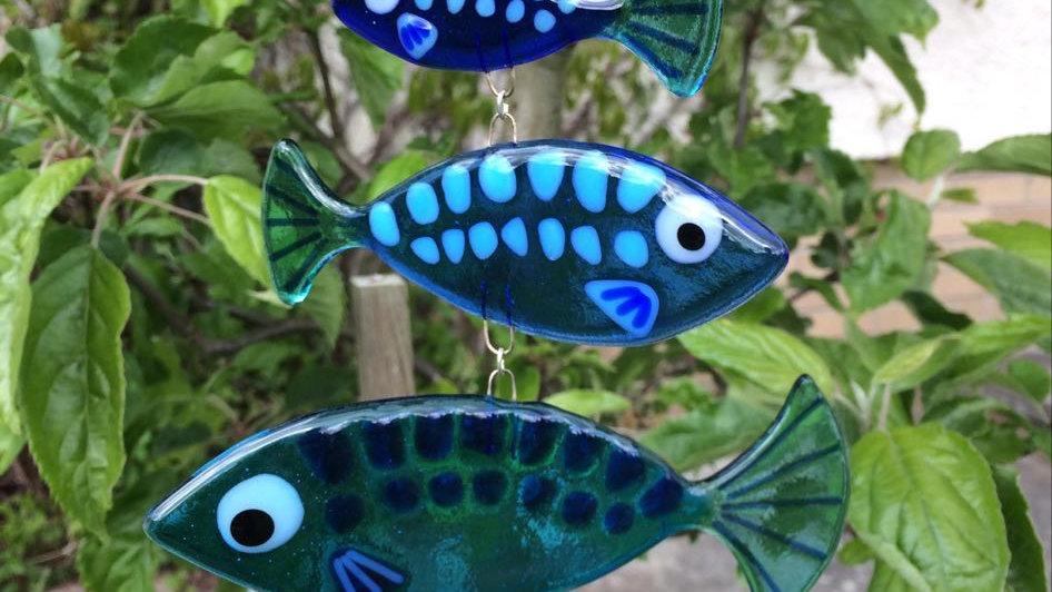Fishy sun catcher