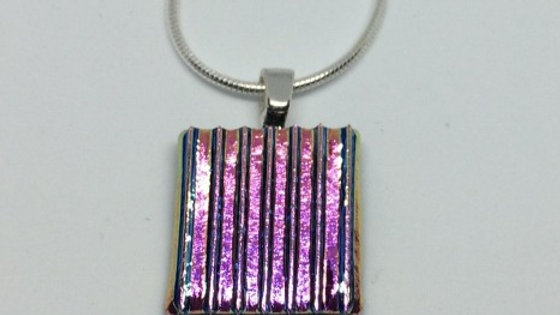 Square dichroic pendant