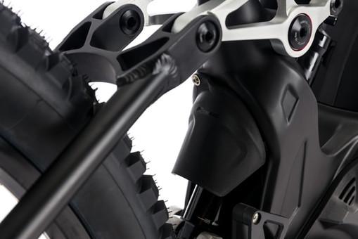 XMF 1.7 Carbon Sospensione posteriore