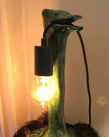 Keramieklamp