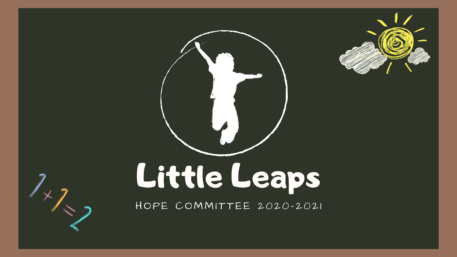 little leaps.