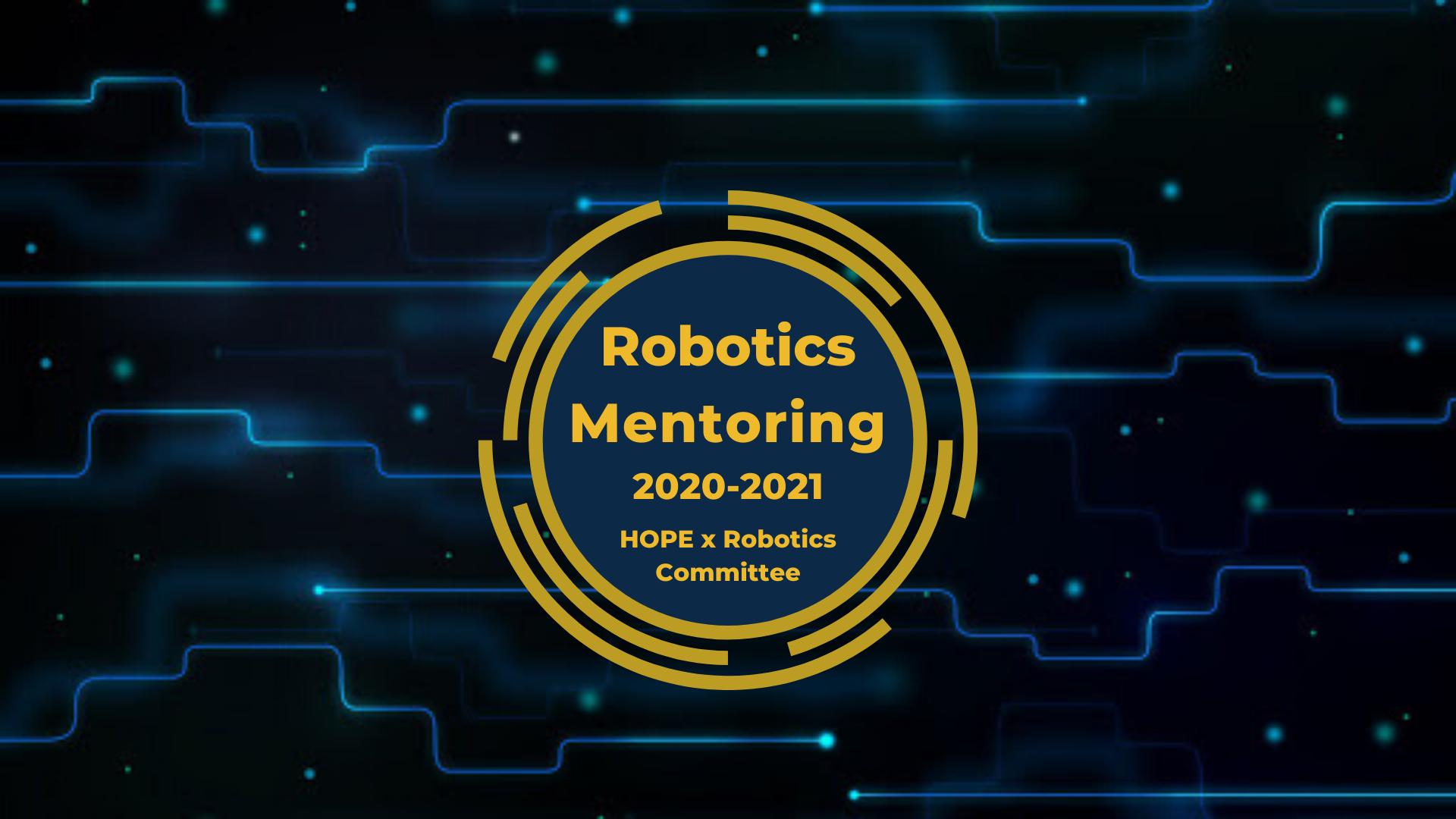 robotics mentoring.