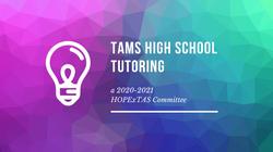 high school tutoring.