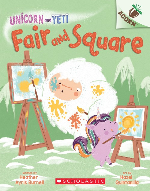 Cover image for Unicorn and Yeti: Fair and Square