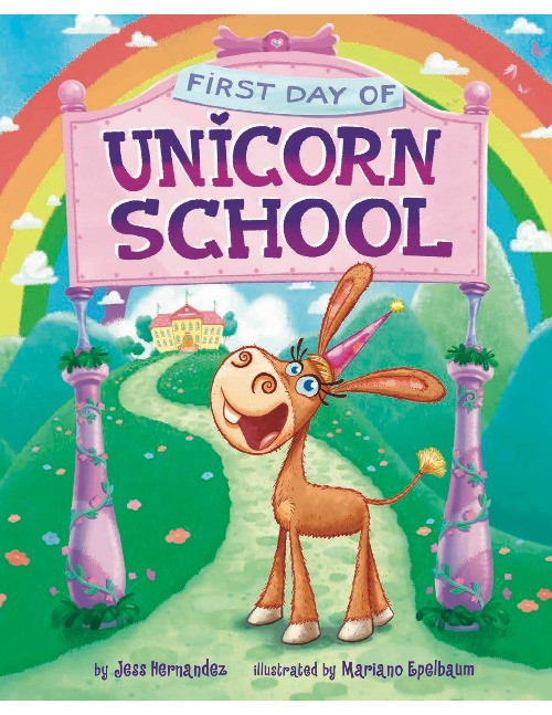 Cover image for First Day of Unicorn School