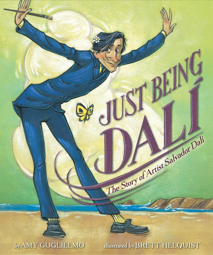Cover image for Just Being Dali