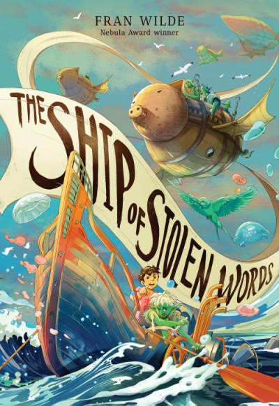 Cover image for The Ship of Stolen Words