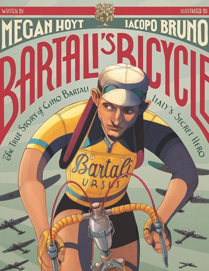 Cover art for Bartali's Bicycle