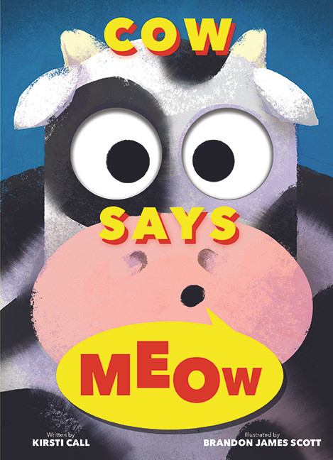 Cover image for Cow Says Meow
