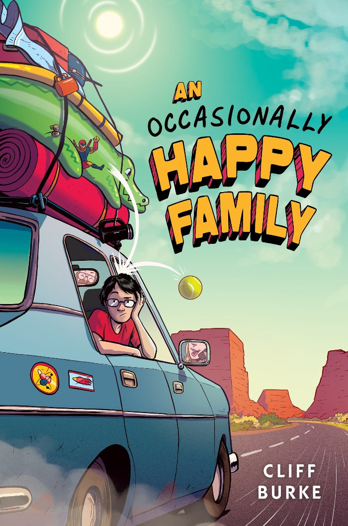 Cover image for An Occasionally Happy Family