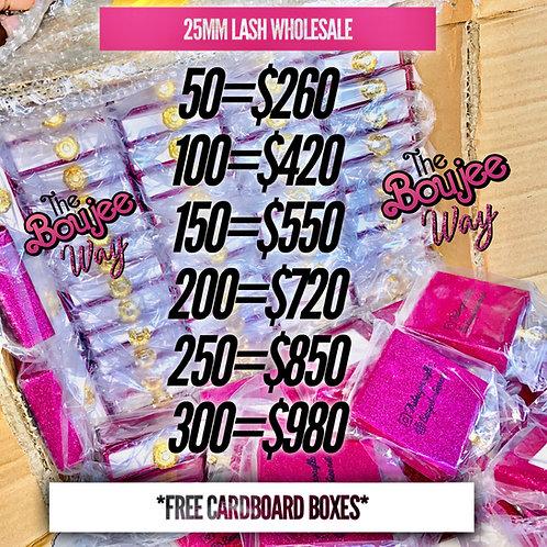 25MM Mink Lash Wholesale