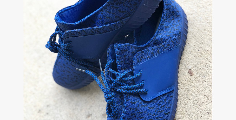 Watch Your Step Shoe - Blue