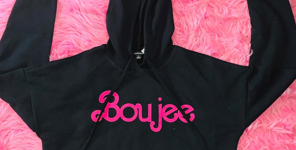 Boujee Cropped Hoodies