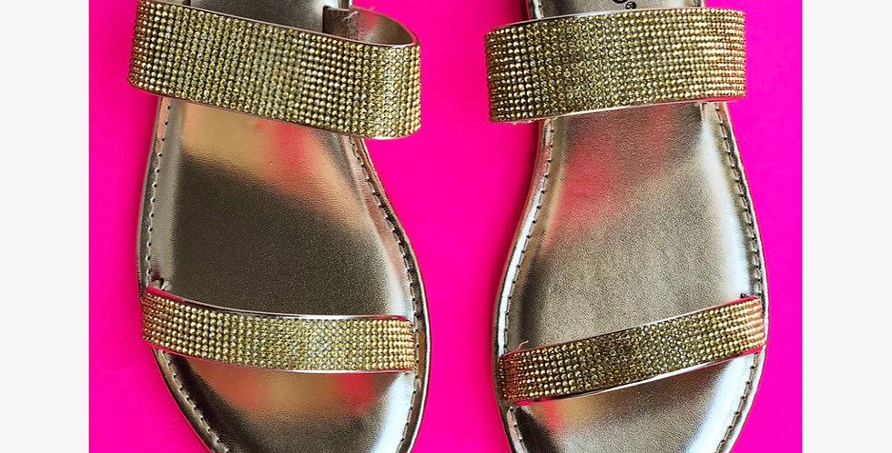 Bling Sandal - Gold