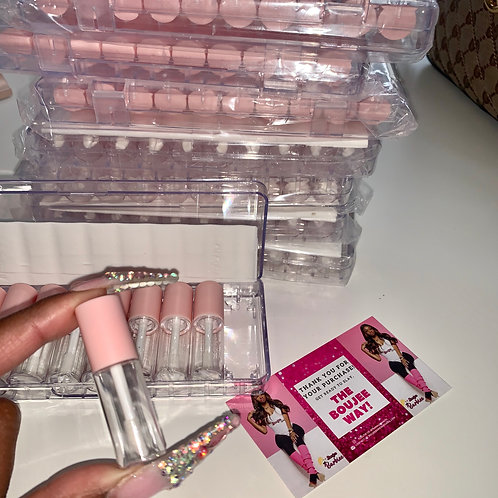 200 Mini pink tubes