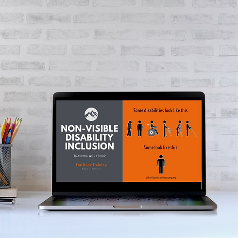 Non-Visible Disability Inclusion Training Workshop | Fortitude Training Limited