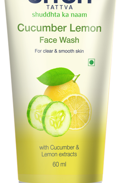 Cucumber Lemon Face wash - 60 Ml