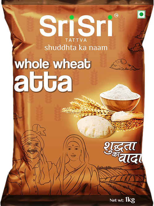 Whole Wheat Atta 1 Kg