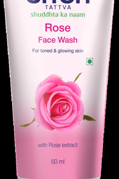 Rose Face wash - 60 Ml