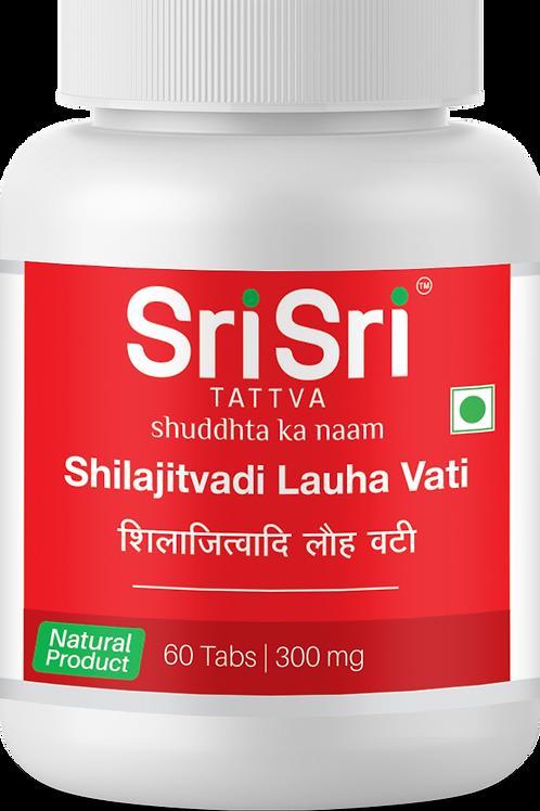 Shilajitvadi Lauha vati 300 mg - 60 Tablets