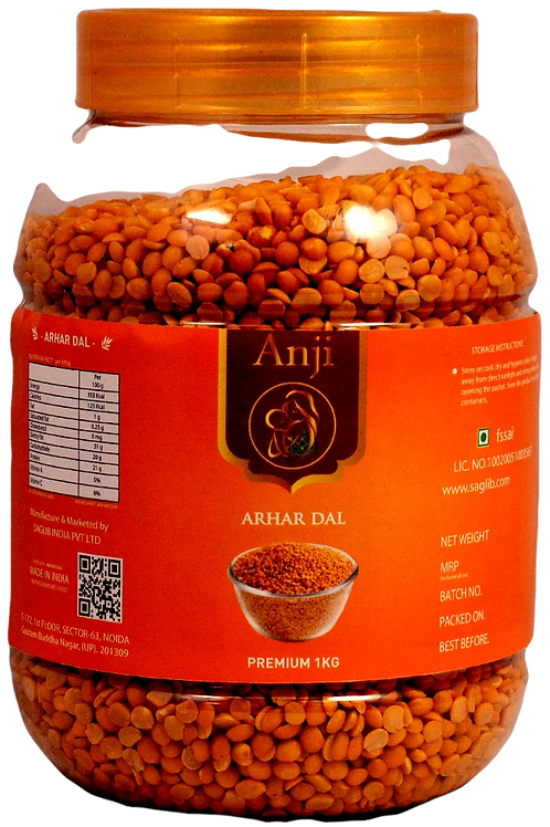 ANJI ARHAR DAL 1 KG