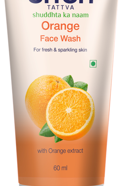 Orange Face Wash - 60 ML
