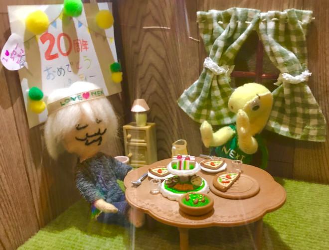 ジローと千鶴さんも20周年パーティをしています