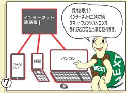 漫画 「どこでも見れる介護連絡帳」7