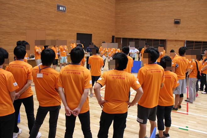 第2回ボッチャ甲子園のボランテイア活動に参加しました